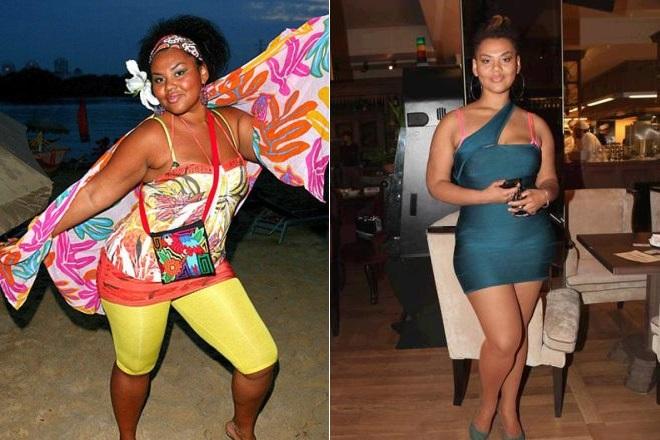 Корнелия Манго до и после похудения