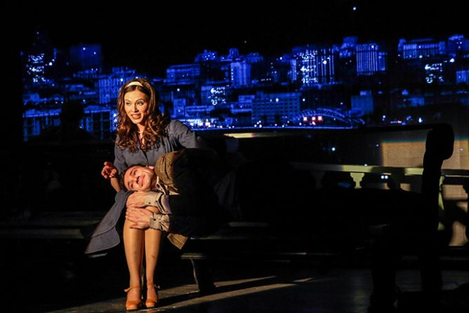Вера Шпак в театре