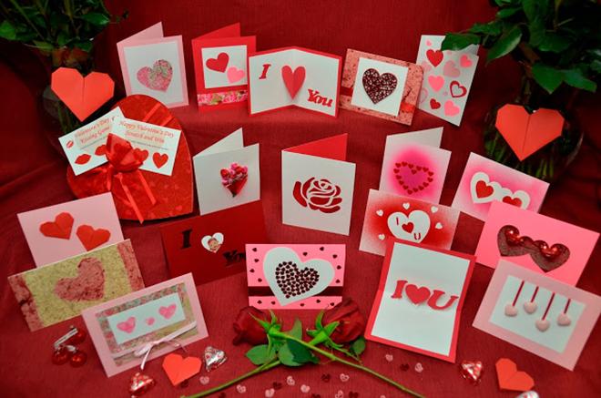 Открытки ко дню Святого Валентина