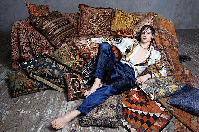 Сергей Полунин в журнале Vogue