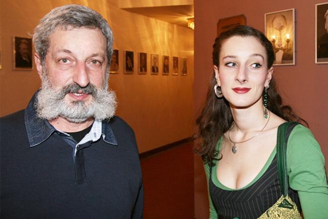 Мариэтта Цигаль-Полищук с отцом