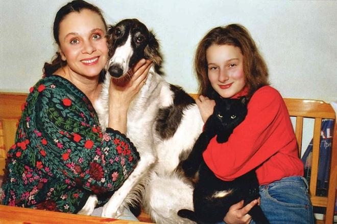 Мариэтта Цигаль-Полищук с мамой