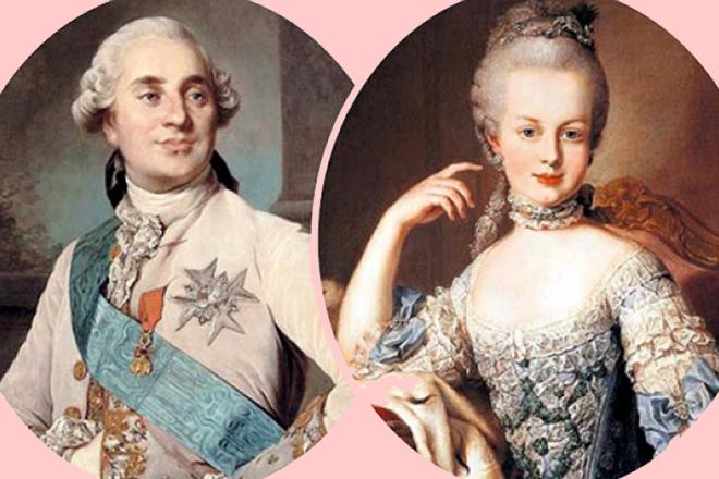 Людовик XVI и Мария-Антуанетта