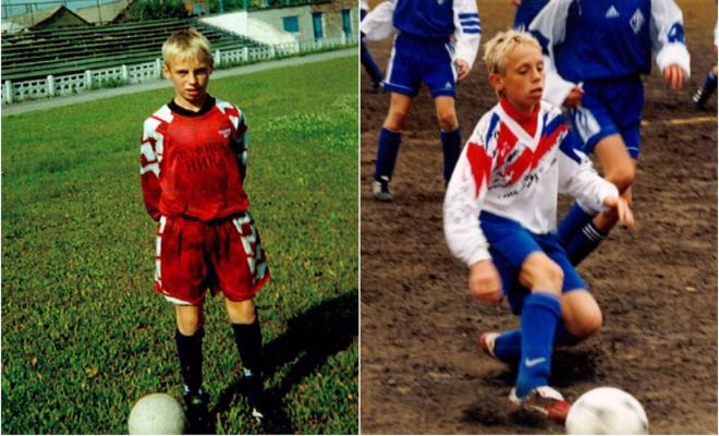 Денис Глушаков в детстве