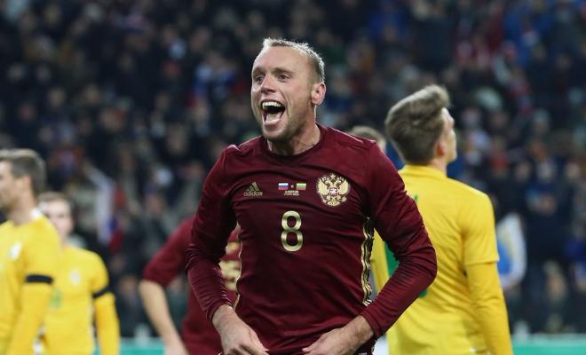 Денис Глушаков на Евро-2016