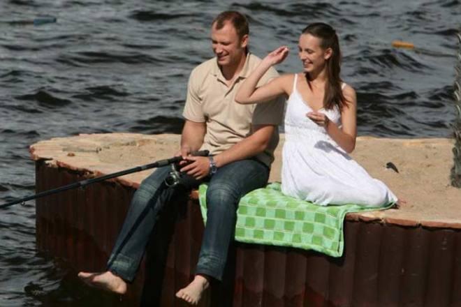 Анна Попова В Купальнике – Однажды Будет Любовь (2009)