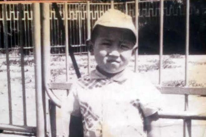 Кайрат Примбердиев в детстве