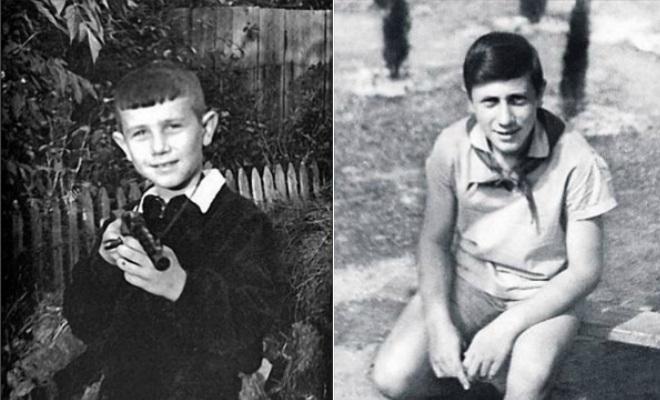 Владимир Винокур в детстве и юности
