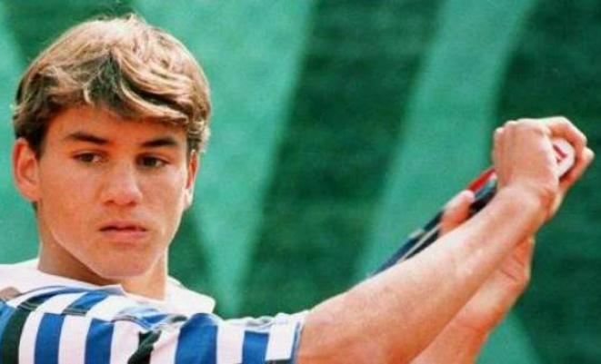 Роджер Федерер в юности