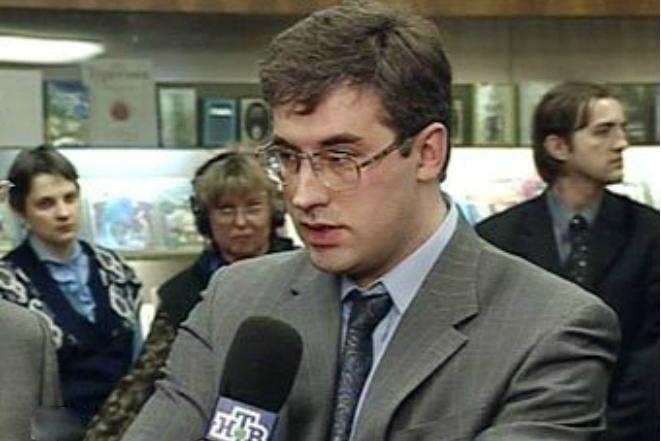 Телеведущий НТВ Андрей Норкин