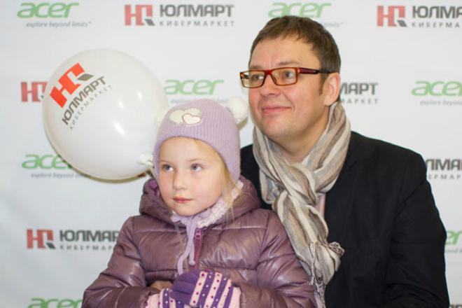 Сергей Нетиевский с дочерью