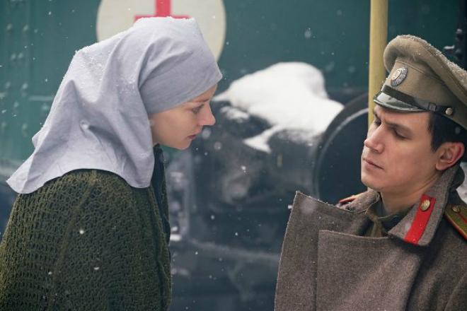 Светлана Ходченкова в сериале «Хождение по мукам»
