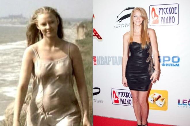 Светлана Ходченкова до и после похудения