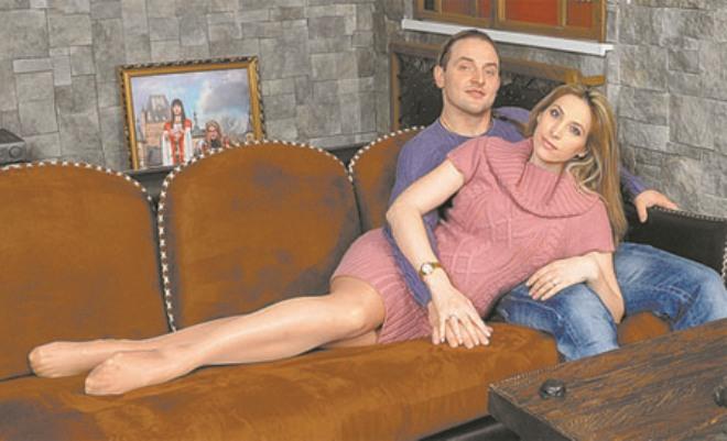 Аскольд Запашный с женой