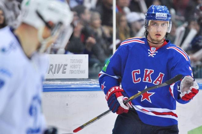 Игорь Макаров в составе СКА