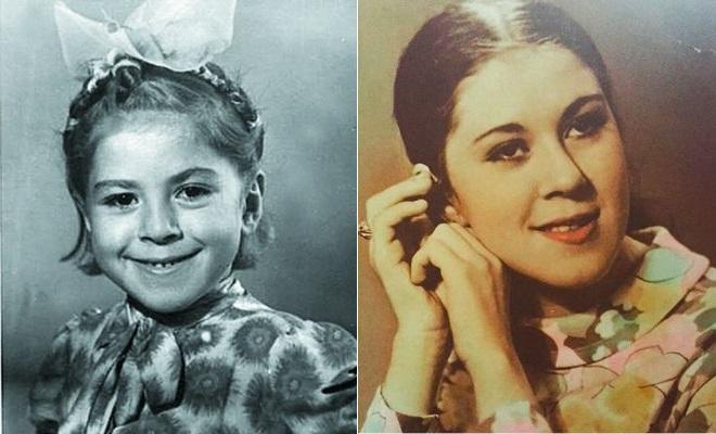 Любовь Успенская в детстве и молодости