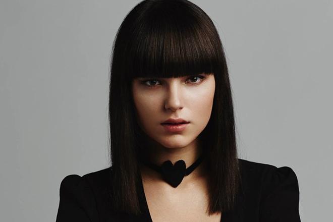 Актриса Михалина Ольшанская