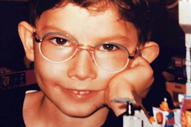 Кирилл Емельянов в детстве