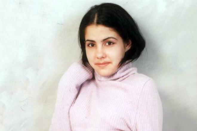 Елена Беркова в юности