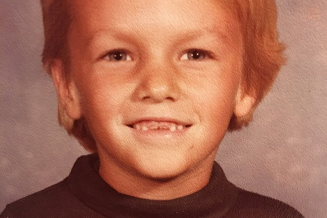 Фред Дёрст в детстве