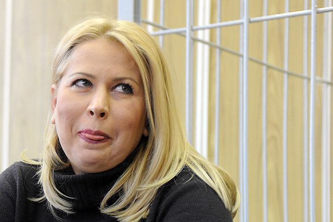 Евгения Васильева на суде