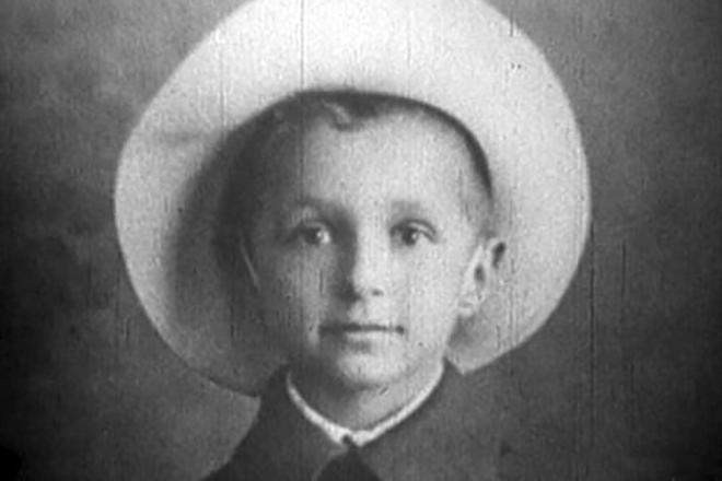 Георгий Милляр в детстве