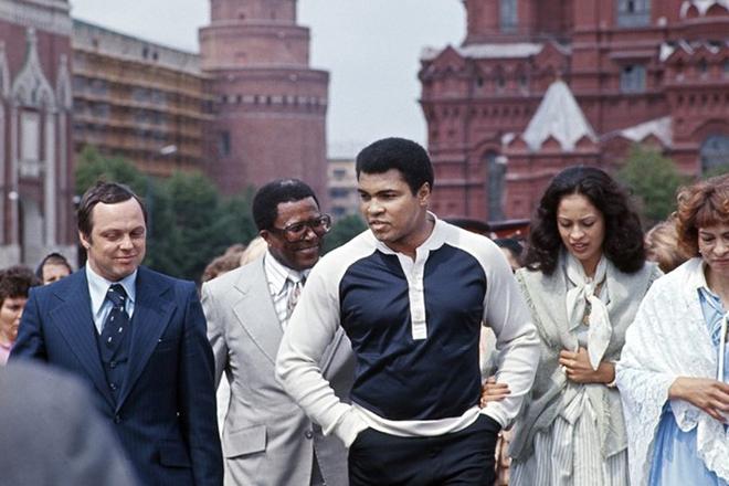Мухаммед Али в Москве