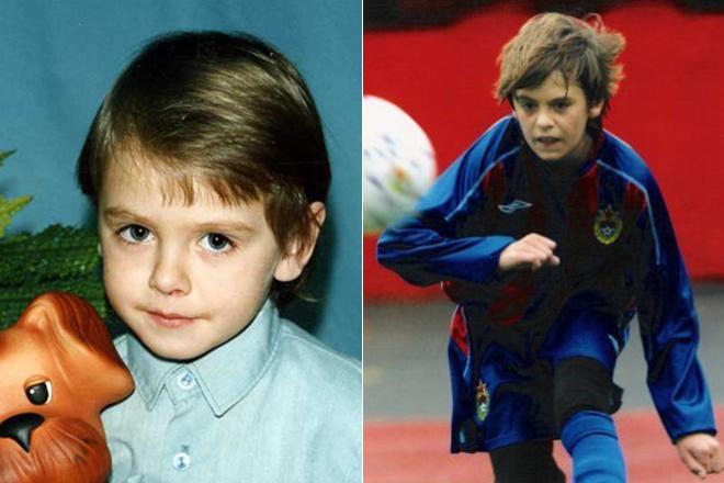 Георгий Щенников в детстве