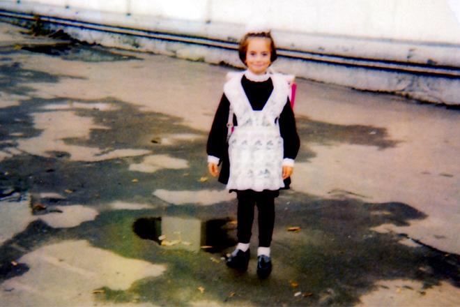 Наталья Фриске в детстве