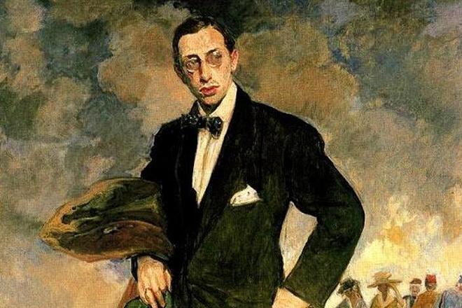 Портрет Игоря Стравинского