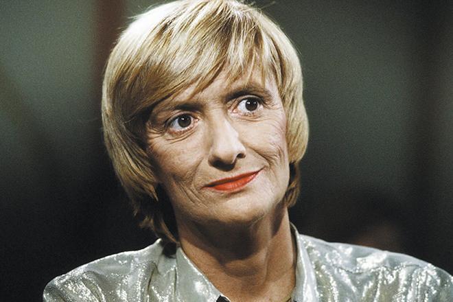 Писательница Франсуаза Саган