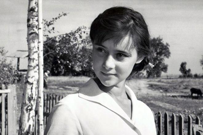 Людмила Марченко в молодости