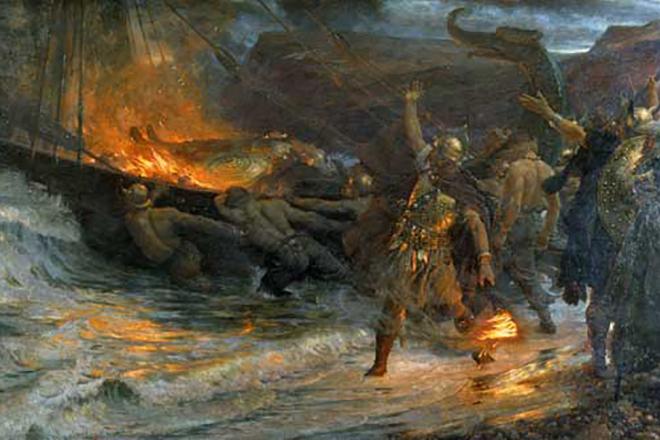 Военный поход Ивара Бескостного