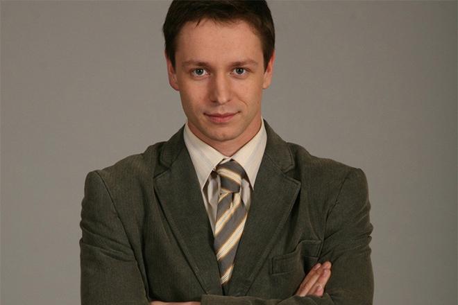 Актер Владимир Жеребцов