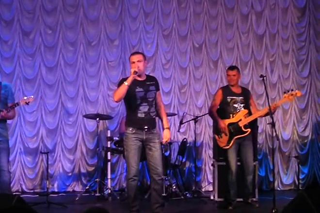 Михаил Борисов на сцене