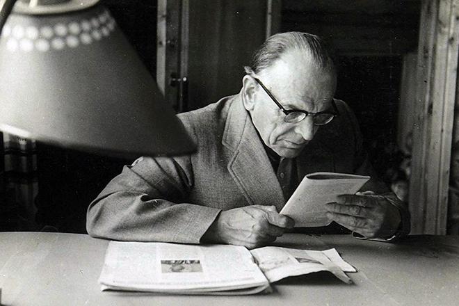 Писатель Константин Паустовский