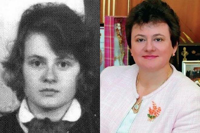 Светлана Орлова в молодости