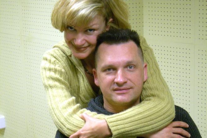 Сергей Лемох с женой