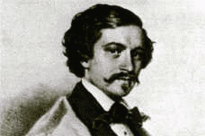 Иоганн Штраус в молодости