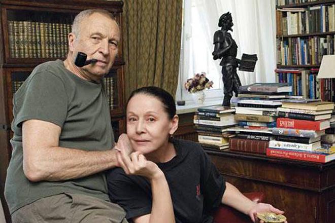 Елена Прудникова и муж Андрей Смирнов