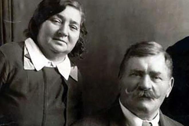 Иван Поддубный и Мария Машонина