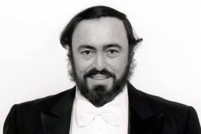 Тенор Лучано Паваротти