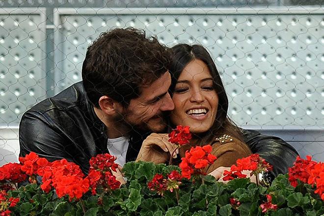 Икер Касильяс с женой
