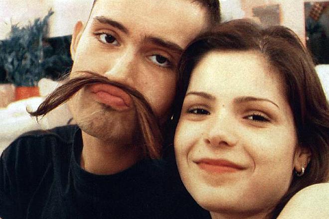 Юрий Титов и Женя Волконская