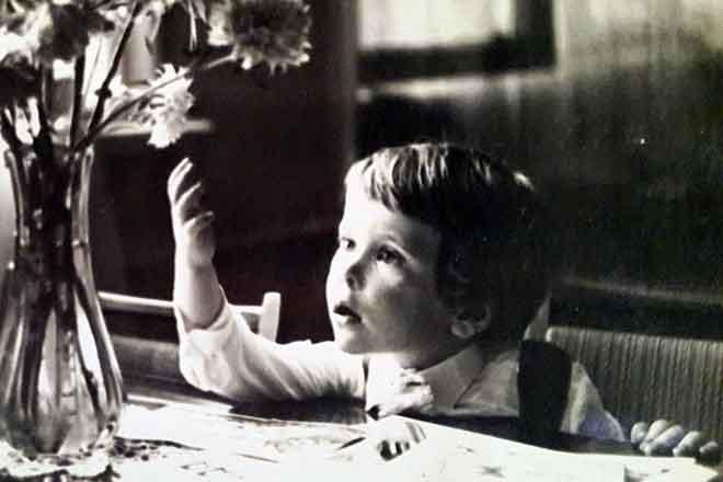 Денис Мацуев в детстве