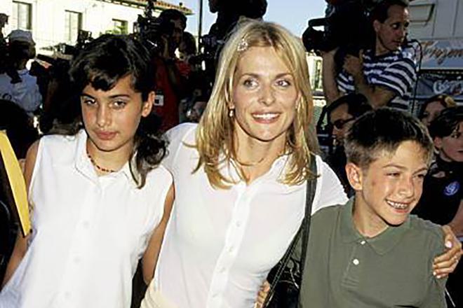 Настасья Кински и дети