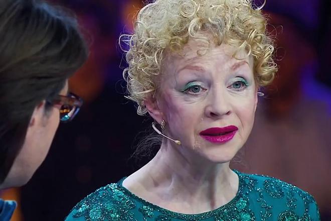 Наталья Седых в 2018 году