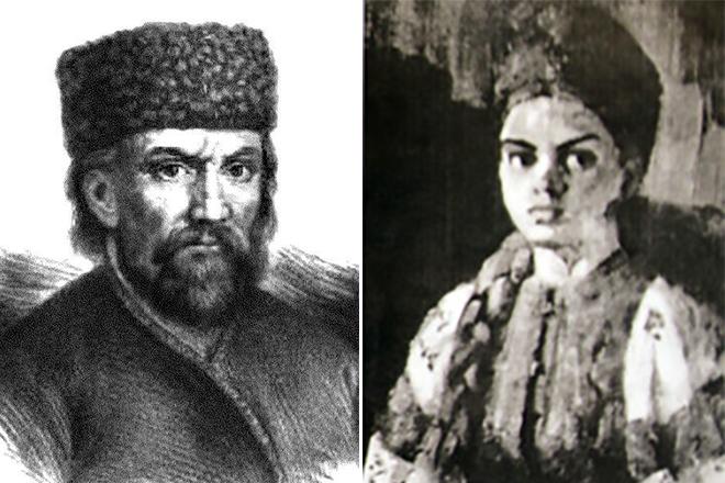 Евгения Вайс в роли Марины Мнишек