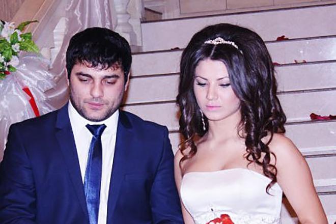 Мурат Тхагалегов с женой