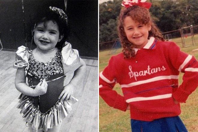 Эшли Тисдейл в детстве